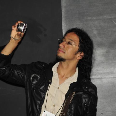 Daniel Bejarano diretor do Festival Ojo Al Sancocho, Colômbia