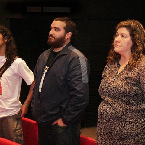 Apresentação da Rede Miradas durante a edição 2010 do festival
