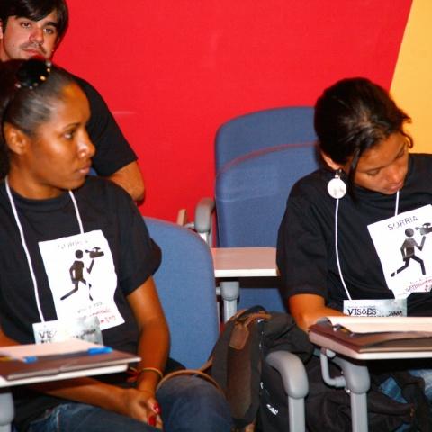 Seminário edição 2008 do Visões Periféricas