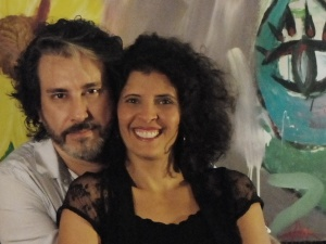 Ricco Lima e Laysa Fassarela, diretores de Ausência