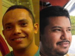 Bruno Pereira e George Augusto, diretores de Um minuto de brasilidade